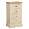 Lundy Pine Painted 4 Drawer Wellington