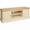 Lundy Pine Painted 2 Door TV Unit