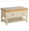 Lundy Pine Painted Drawer Coffee Table