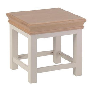 Lundy Pine Painted Side Table