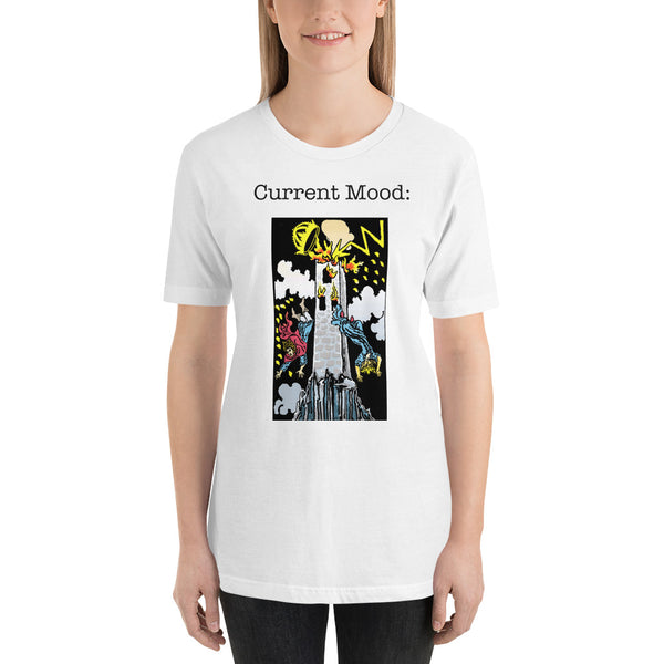 Short-Sleeve Unisex Tarot Card T-Shirt
