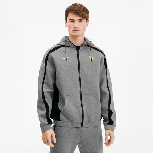 [596145-03] Scuderia Ferrari Hooded Sweat Jacket