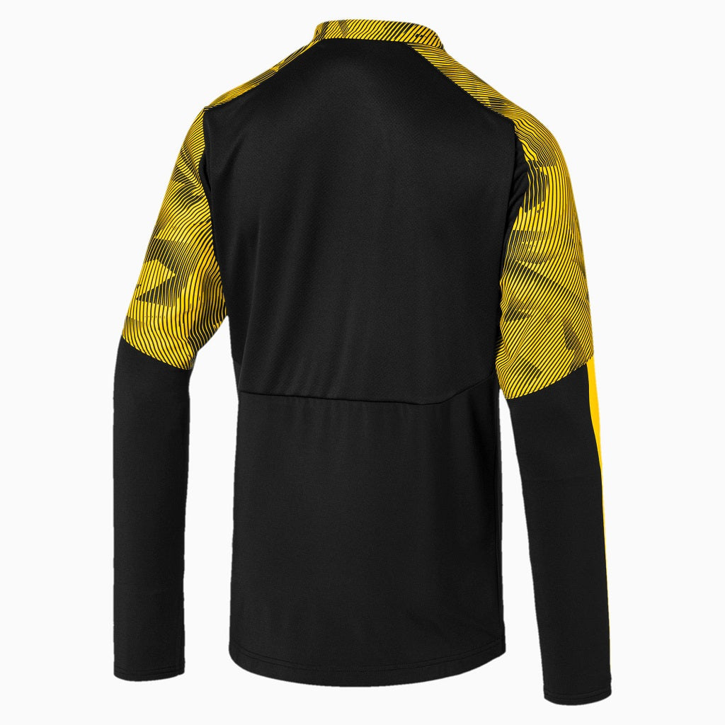 [755764-02] Mens Puma BVB 1/4 Zip Training Top With Evonik Logo