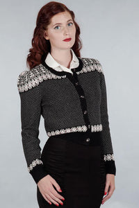 Emmy Design The Lovely Lusekofta Cardigan Black