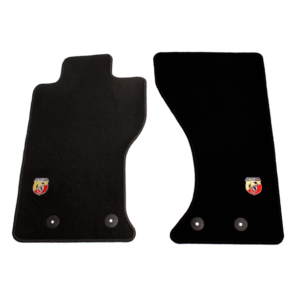 Fiat / Abarth 124 Spider Floormats for Left Hand Drive Models - Black or Red