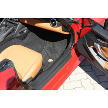 Load image into Gallery viewer, Fiat / Abarth 124 Spider Floormats for Left Hand Drive Models - Black or Red