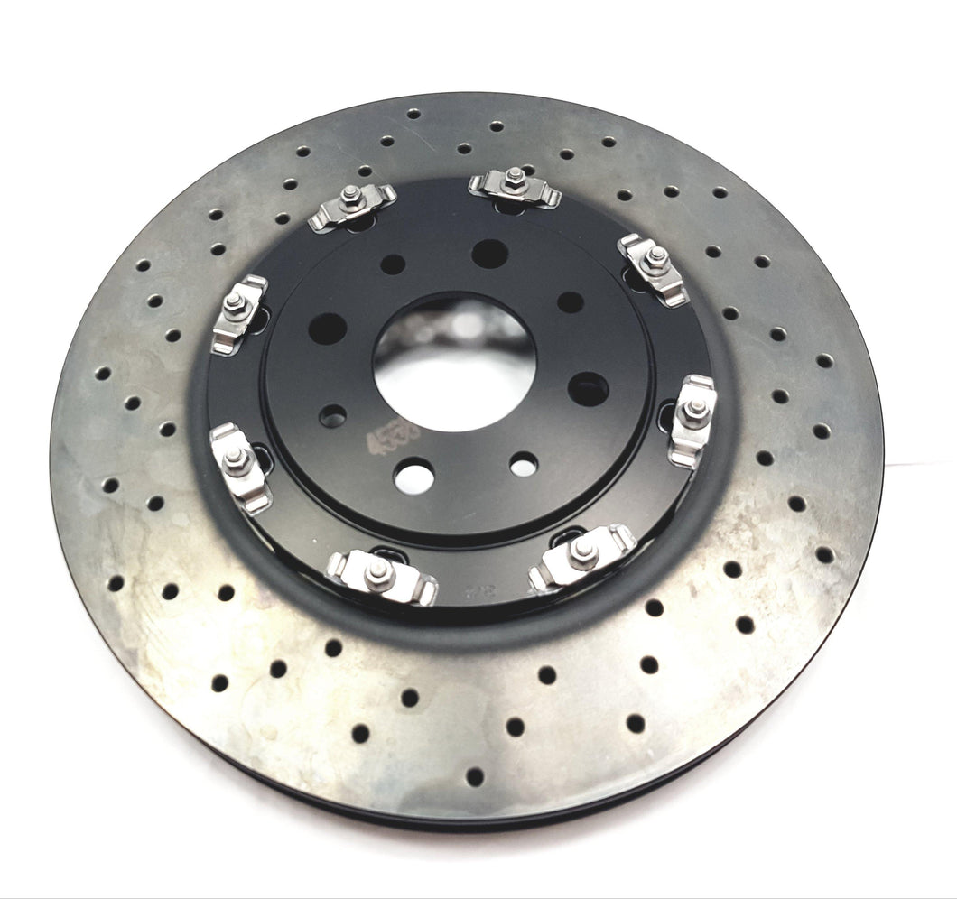 Brake Disc, Front (Floating)- 500 Abarth
