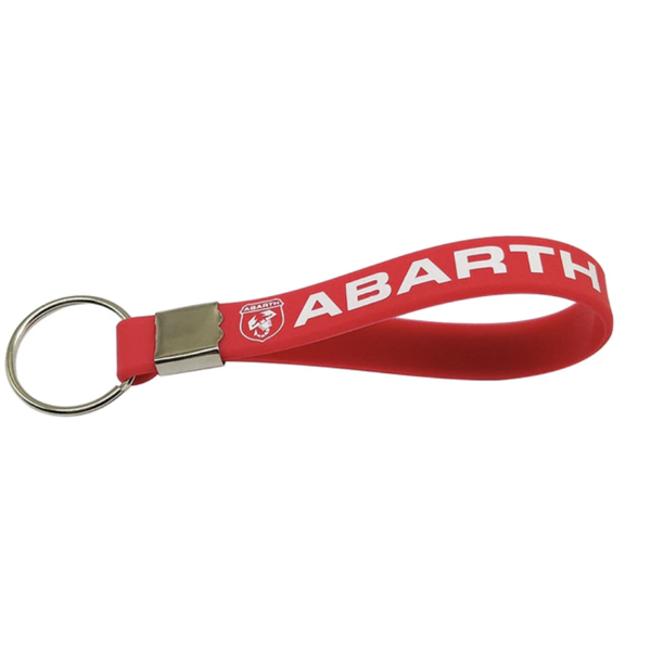 Abarth Rubber Keyring - Various Colours SALE - Abarth Tuning