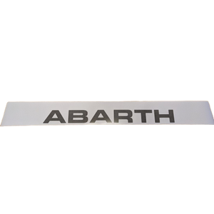 Abarth Peforated Sun Strip