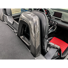 Load image into Gallery viewer, Abarth 124 Rear Seat Cover - Carbon Fibre