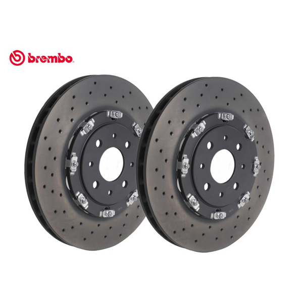 Abarth 595/695 2 Piece 305mm Floating Discs - Abarth Tuning