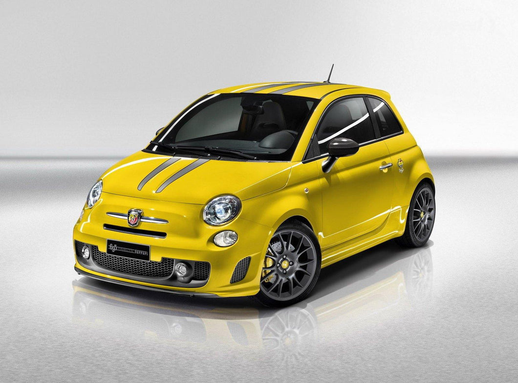 Abarth 695 Decals Bonnet/Hood and Roof Stripes