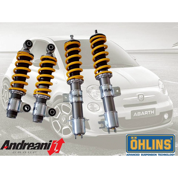 Ohlins Road & Track Coilover Kit for Abarth 500/595 - Abarth Tuning
