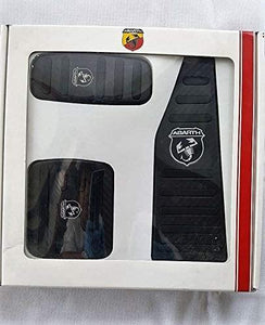 Genuine Abarth Carbon Pedal Set LHD Automatic Transmission ONLY IN STOCK
