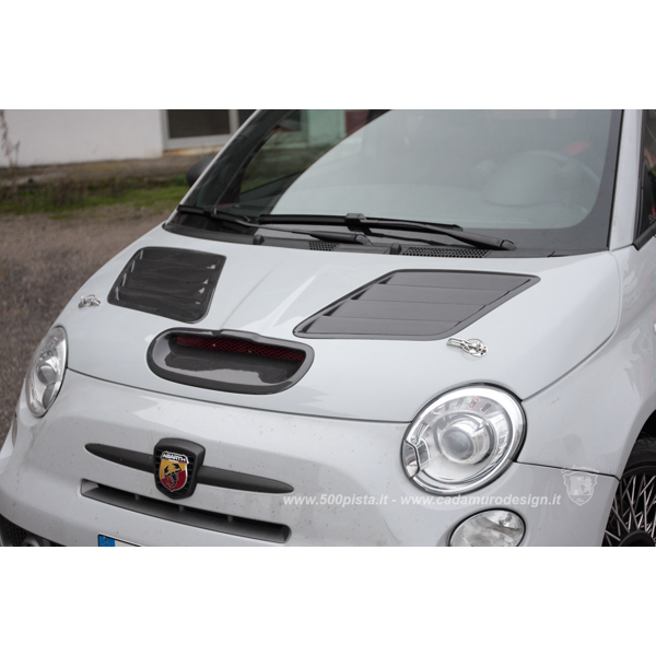 Pista Bonnet with Carbon Air Intakes