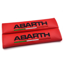 Load image into Gallery viewer, Abarth Seat Belt Pads