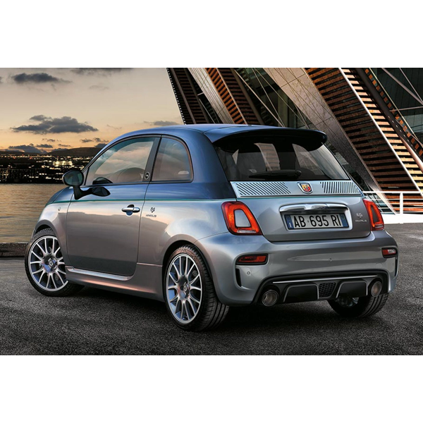 695 Rivale Boot-Trunk Slotted Moulding x1 LEFT IN STOCK - Abarth Tuning