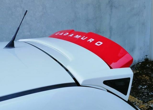 PRE-ORDER Abarth 500/595/695 70th Anniversario Adjustable Spoiler