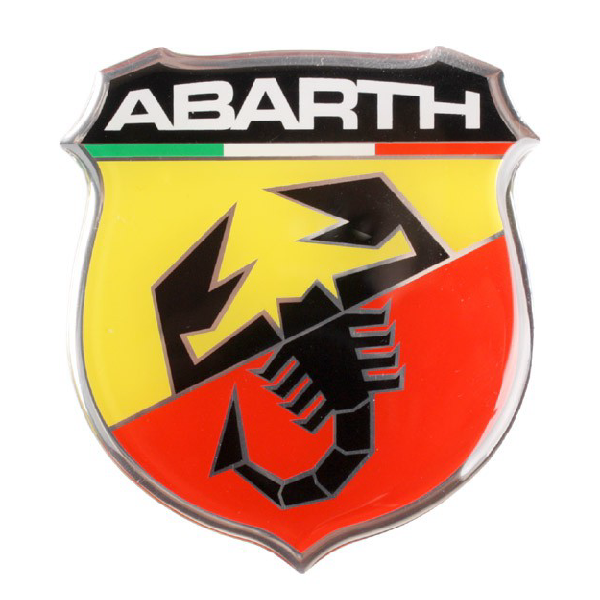 Diamond Sticker Abarth Scudetto 80