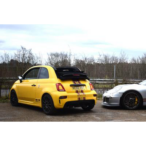 Abarth 500, 595, 695 - Titanium Sport Exhaust (2008 on) - QuickSilver Exhausts - Abarth Tuning