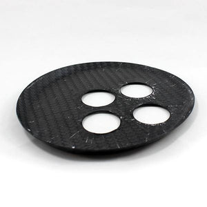 Abarth 500/595 Automatic Gear Cover - Carbon Fibre - Abarth Tuning