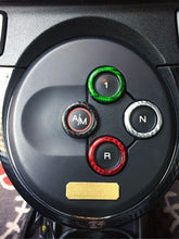 Load image into Gallery viewer, Abarth 500/595 Frame Caps Automatic Gear - Carbon Fibre
