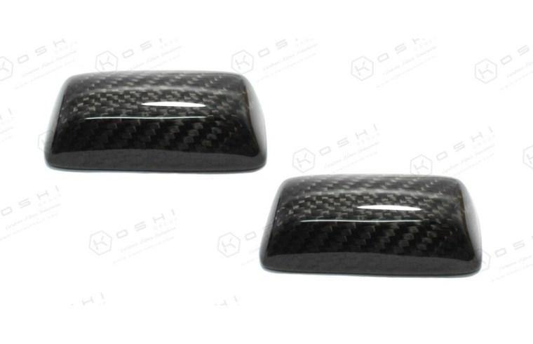 Abarth 500/595 Sabelt Seats Handle Cover - Carbon Fibre - Abarth Tuning