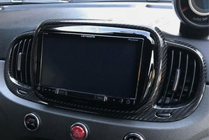 Abarth 595 Audio System Frame Cover