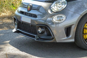 Abarth 595 Front Splitter Lip - Carbon Fibre - Abarth Tuning