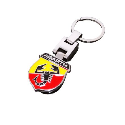 Abarth Shield Keyring
