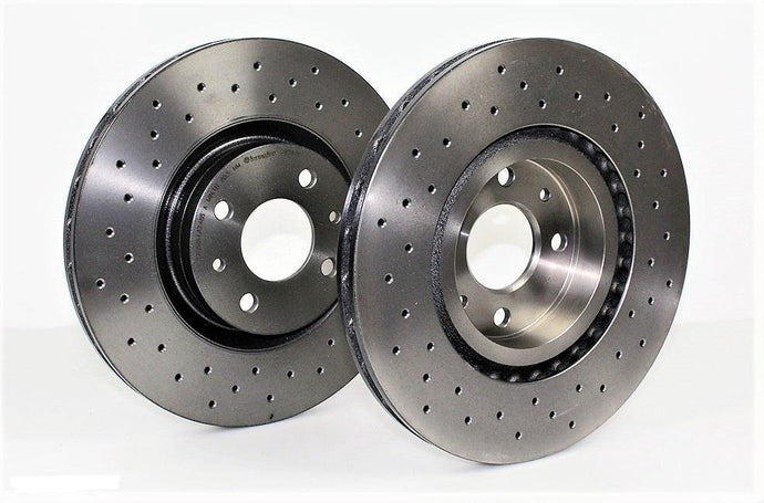 Abarth 500 Brembo Brake Disc Set Xtra - Rear - Abarth Tuning