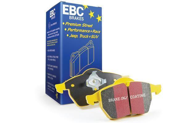 Abarth 500/595/695, Punto & 124 Spider EBC YellowStuff Rear Brake Pads - Abarth Tuning