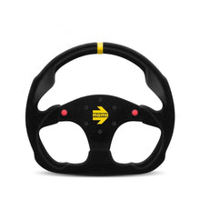 Load image into Gallery viewer, MOMO Mod. 30 - Black Suede 320mm Track Steering Wheel