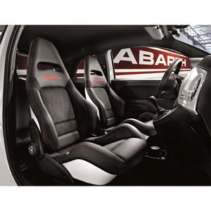 Abarth Sabelt Sports Seats x 2 with Alcantara and Leather for Abarth 500/595/695