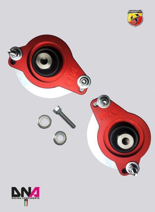 ABARTH 500/595 INCL USA MODEL NEW STYLE TOP MOUNT KIT FOR BILSTEIN B14 - DNA RACING - Abarth Tuning