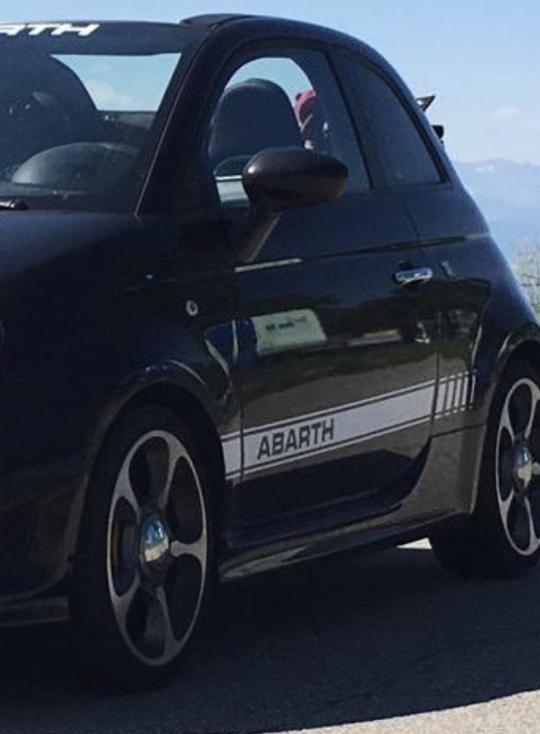 Abarth stripes, Series 4 stock look version.