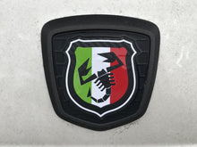 Load image into Gallery viewer, 500/595 Tricolore Scorpion Badge overlays carbon option available. Set of two