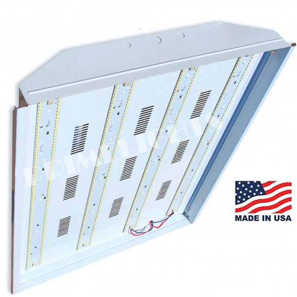 USA BAY- 165 Watt Bay Shop Light DLC - USA MADE 25,400 Lumens