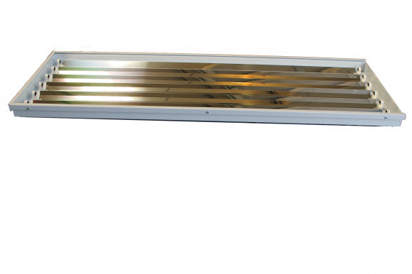 6 Lamp T8 Highbay Fluorescent Fixture