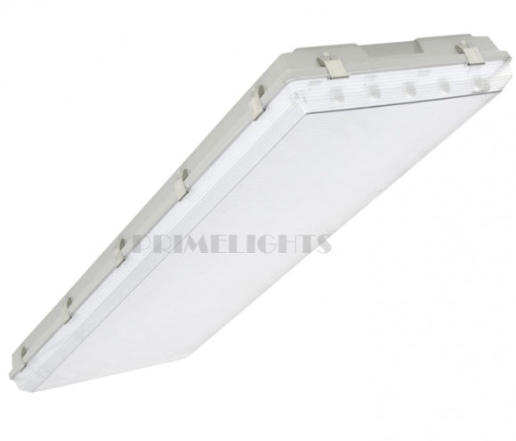 4' ft. LED T8 Vaportight Fixture 132 Watt - 6 Lamp Frosted - IP 66 WATERPROOF