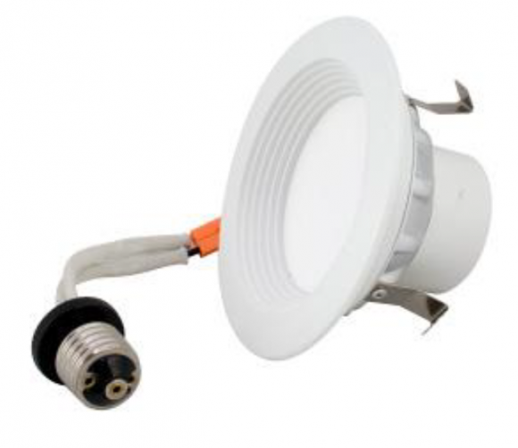 "Energetic Lighting E2DL09D4-827 4"" Recessed Can Downlight"
