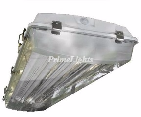 4 Lamp 4' ft. T5HO Vaporproof Highbay Fluorescent