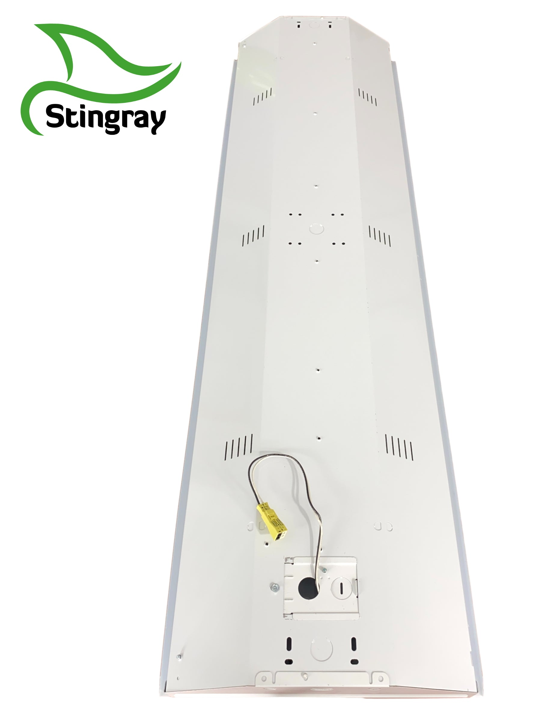 LED 6 Lamp T8 STINGRAY 6XL Highbay Fixture 132 Watts Clear