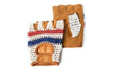 De Franc Gloves - Red Blue