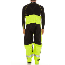 Load image into Gallery viewer, Hi-Vis Safety Bib & Brace Trousers