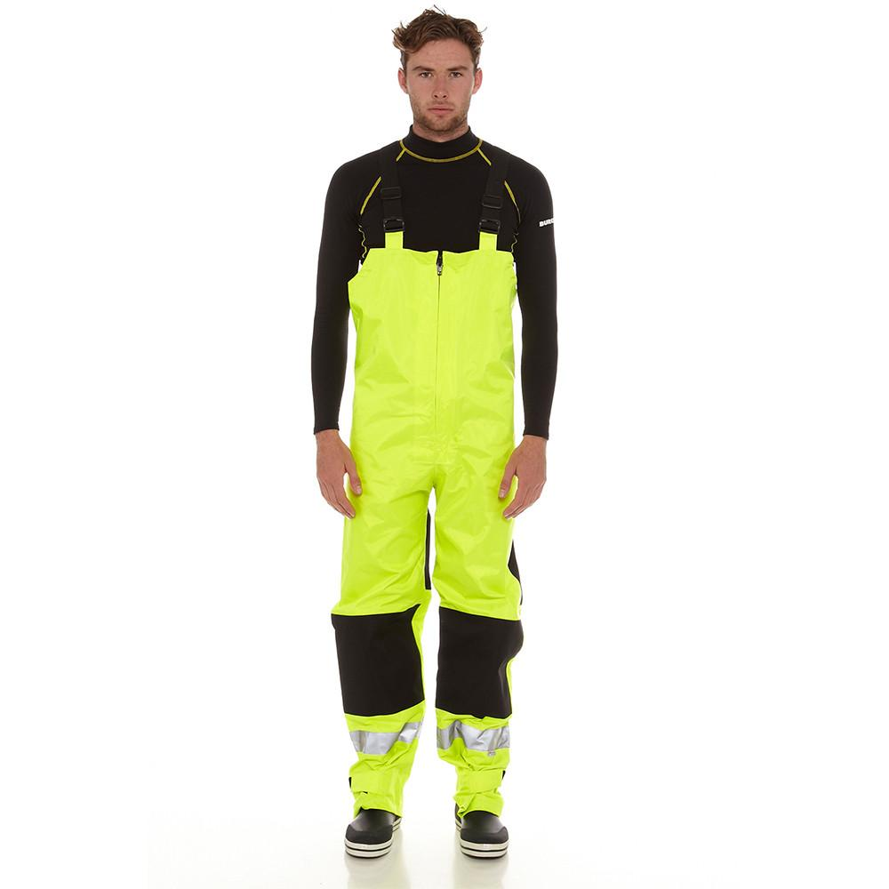 Hi-Vis Safety Bib & Brace Trousers