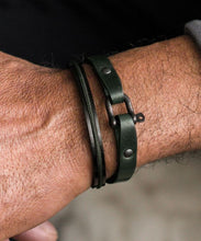 Load image into Gallery viewer, Vicious Vik Leather Bracelet
