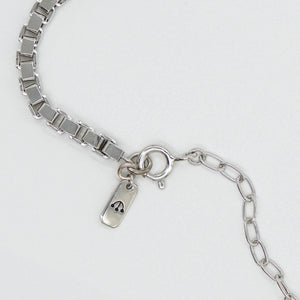 PAWNSHOP STERLING SILVER BOX CHAIN NECKLACE