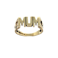 Load image into Gallery viewer, VINTAGE 9K GOLD 90'S MUM RING