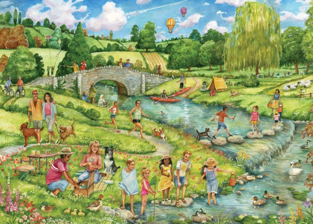 The Great Outdoors 1000 Piece Jigsaw-5017680047046
